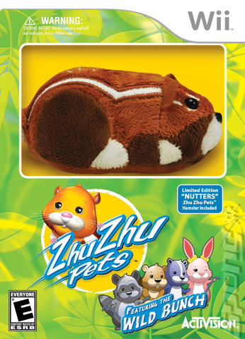 ZhuZhu Pets: Featuring The Wild Bunch - Wii Cover & Box Art