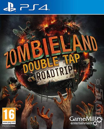 Zombieland: Double Tap: Road Trip - PS4 Cover & Box Art