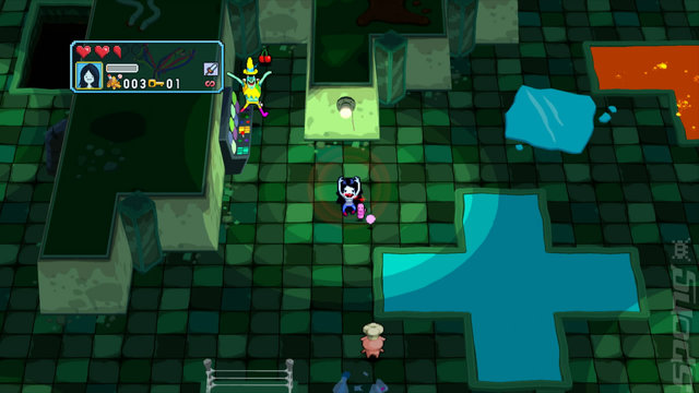 Adventure Time: Explore the Dungeon Because I DON'T KNOW! - Wii U Screen