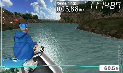 Screens angler s club ultimate bass fishing 3d 3ds 2ds for The fishing club 3d
