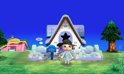 Animal crossing new leaf 3ds screen