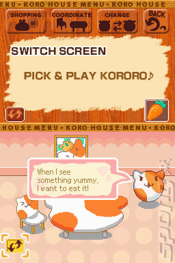 Animal Kororo - DS/DSi Screen
