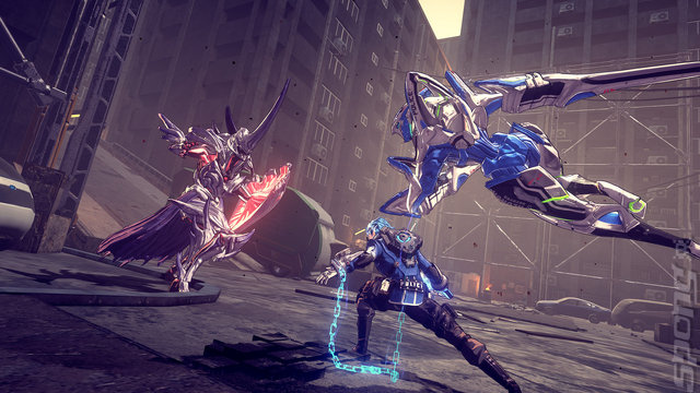 Astral Chain - Switch Screen
