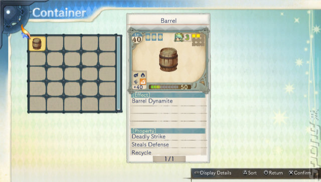 Atelier Shallie: Alchemists Of The Dusk Sea - PSVita Screen