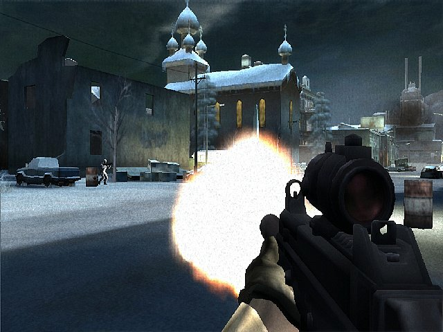 Battlefield 2: Modern Combat - Xbox Screen