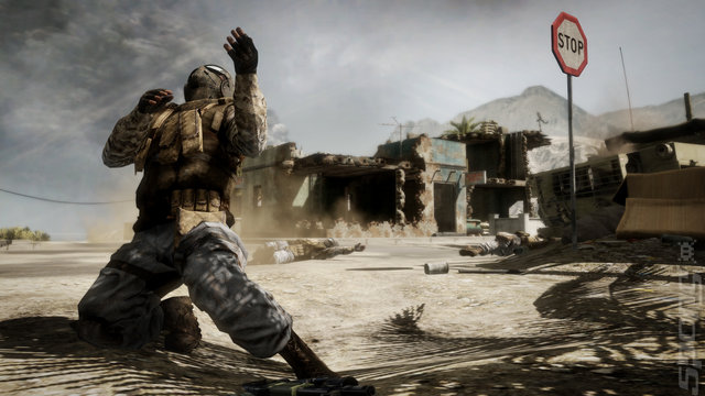 Battlefield: Bad Company 2 - PC Screen