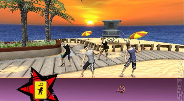 Big Time Rush: Dance Party - Wii Screen