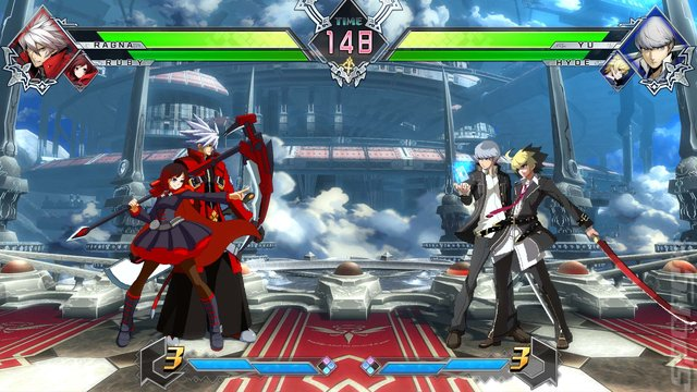 BLAZBLUE: CROSS TAG BATTLE - Switch Screen