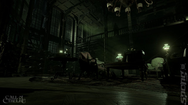 Call of Cthulhu: The Official Video Game - Switch Screen
