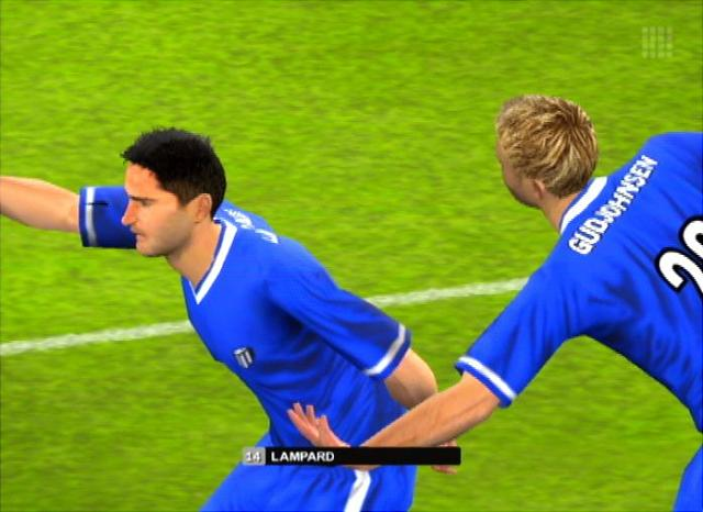 Chelsea Club Football 2005 - PS2 Screen