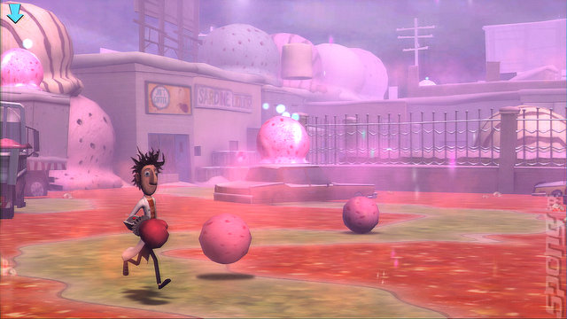 Cloudy With a Chance of Meatballs - PC Screen