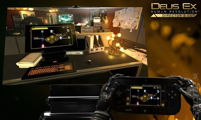 Deus Ex: Human Revolution: Director's Cut - Wii U Screen