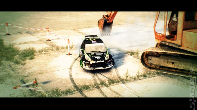 DiRT 3 Editorial image