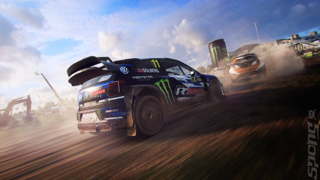 DiRT Rally 2.0 - PC Screen