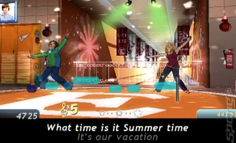 Disney Sing It: High School Musical 3: Senior Year - PS2 Screen