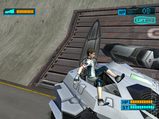Eureka Seven Vol. 1: The New Wave - PS2 Screen