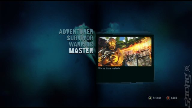 Far Cry 3 - Xbox 360 Screen