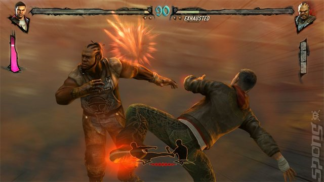 Fighters Uncaged - Xbox 360 Screen