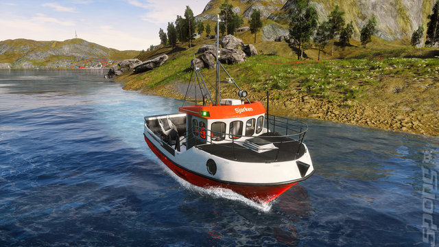 Fishing: Barents Sea - PC Screen
