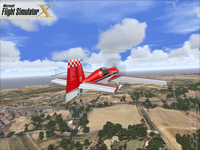 Microsoft Flight Simulator X: Deluxe Edition - PC Screen