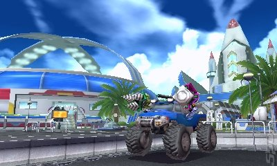 Fossil Fighters: Frontier - 3DS/2DS Screen