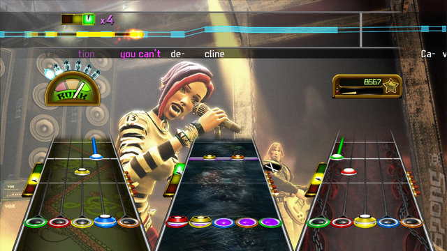Guitar Hero: Greatest Hits - Xbox 360 Screen