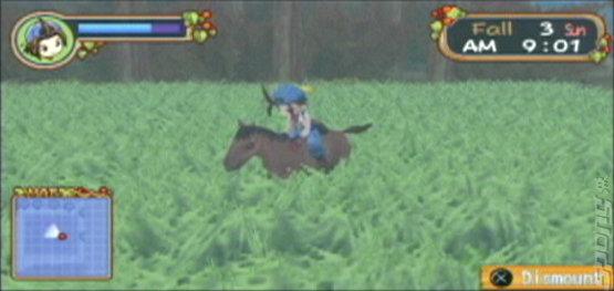 Harvest Moon: Hero of Leaf Valley - PSP