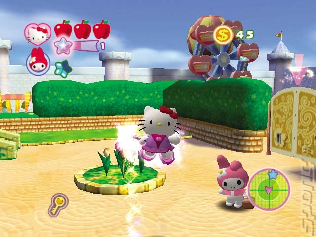 Hello Kitty Roller Rescue - PC Screen