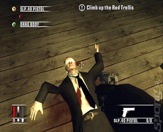 Как сделать на весь экран игру hitman blood money