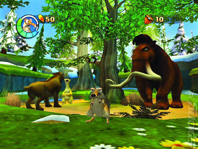 Ice Age 2: The Meltdown - Wii Screen