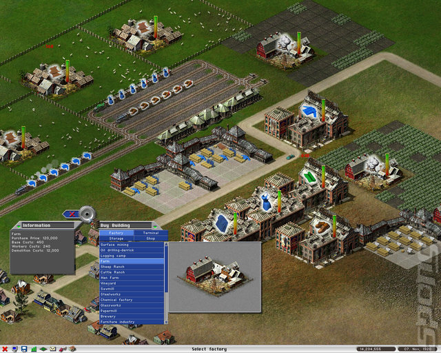 Screens: Industry Giant II: Gold Edition - PC (12 of 17)