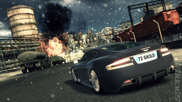 James Bond 007: Blood Stone - PS3 Screen