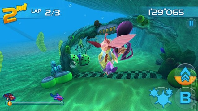 Jett Tailfin - Wii U Screen
