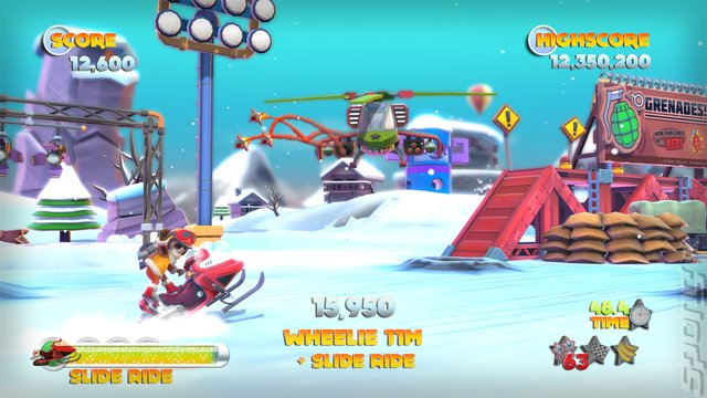 Joe Danger 2: The Movie - PS3 Screen