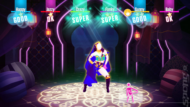 Just Dance 2018 - Wii U Screen
