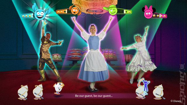 Just Dance: Disney Party - Xbox 360 Screen