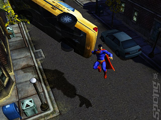 Justice League Heroes - PC Screen