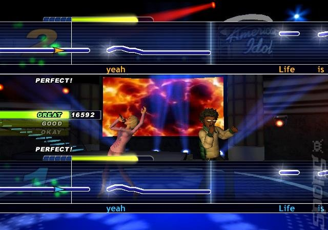 Karaoke Revolution Presents American Idol Encore 2 - Wii Screen