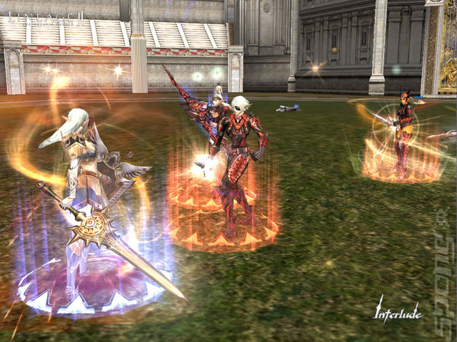 Lineage II: The Chaotic Throne Interlude - PC Screen