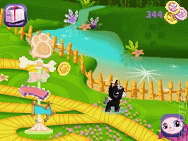 Littlest Pet Shop: Garden - DS/DSi Screen