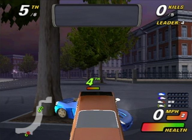 London Racer: Destruction Madness - PS2 Screen