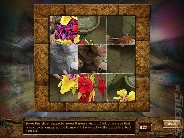 Lost Realms: Legacy of the Sun Princess - PC Screen