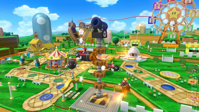 Mario Party 10 - Wii U Screen