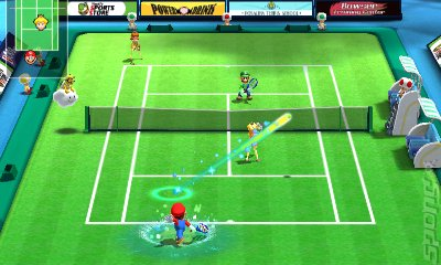 Mario Sports Superstars Editorial image
