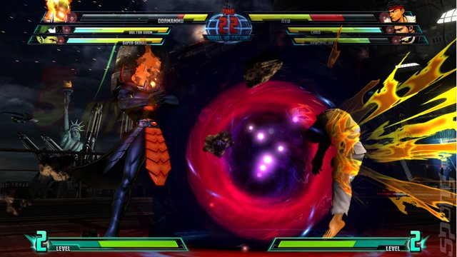 Marvel vs. Capcom 3: Fate of Two Worlds - Xbox 360 Screen