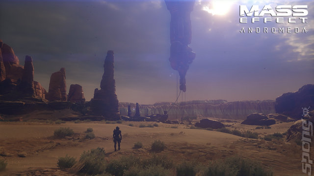 Mass Effect: Andromeda - PC Screen