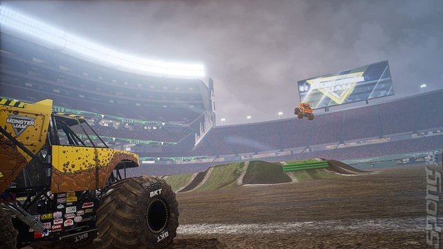 Monster Jam: Steel Titans - PC Screen