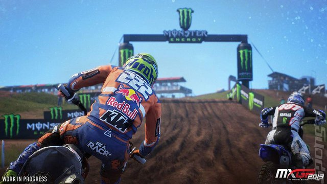 MXGP 2019 - PS4 Screen
