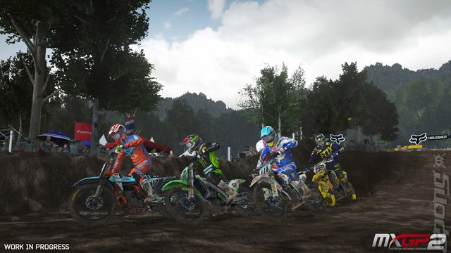 MXGP2: The Official Motocross Videogame - PC Screen