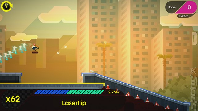 OlliOlli 2: Welcome to Olliwood - PS4 Screen